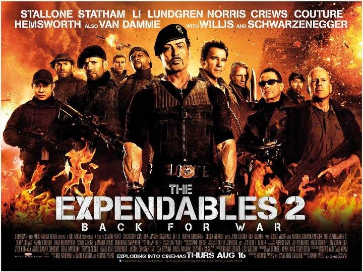 Nenugalimieji 2 / The Expendables 2 (2012, JAV) - Kultūrnamis