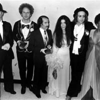David Bowie, Art Garfunkel, Paul Simon, Yoko Ono, John Lennon & Roberta Flack, NYC, 1975