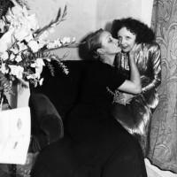 Marlene Dietrich and Edith Piaf