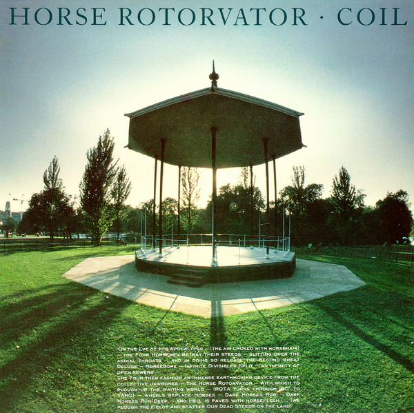 horse rotorvator-cover