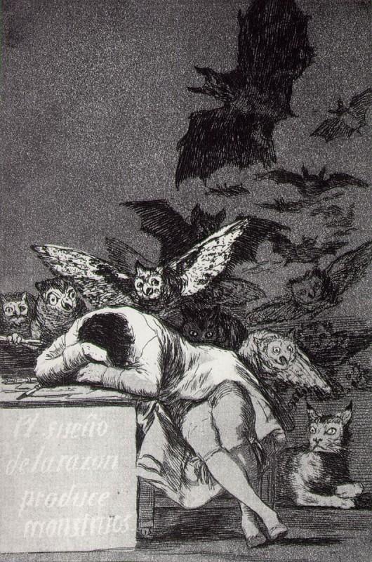3.Kapričas Nr. 43. Proto miegas pažadina pabaisas