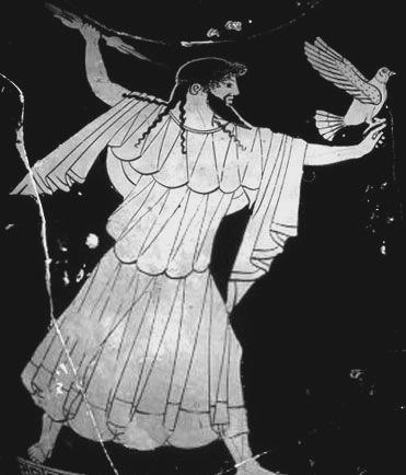 Dzeusas (gr. Ζευς arba Δίας) graikų mitologijoje – vyriausias ir galingiausias iš Olimpo dievų, Krono ir Rėjos sūnus. Jis yra dominuojantis dievas graikų panteone. Dzeusas taip pat yra daugybės graikų mitologijos dievų ir didvyrių tėvas