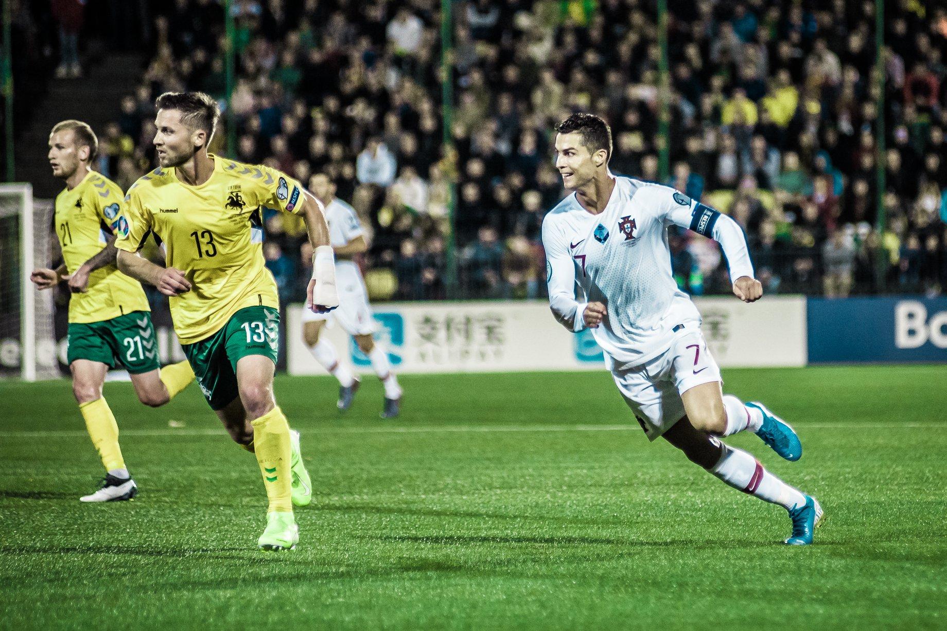 2019 09 10 Futbolas: Lietuva v Portugalija 1:5