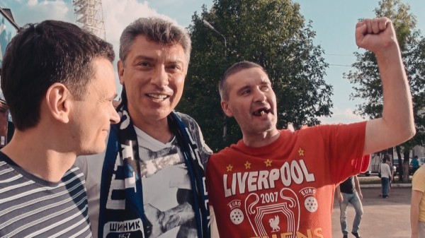 Kadras i_Ī filmo ŌĆ×Mano draugas Borisas NemcovasŌĆ£